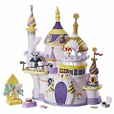 My Little Pony Castle Playset Magic Canterlot  Princess Celestia Figures Toy New