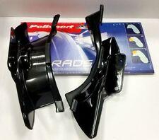 Pièces détachées de carrosserie et cadres noirs Polisport pour motocyclette Yamaha