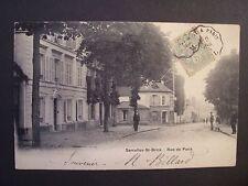 CPA - ( 95 - Val d'Oise ) - Sarcelles-Saint-Brice - Rue de Paris - 1905
