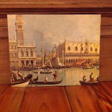NOS Donald Art Co. NY Midcentury Litho Printing Cardboard 11x14 Venice Italy