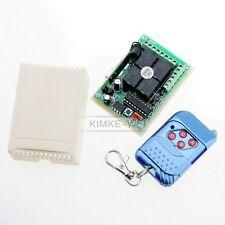 Récepteur de télécommande sans fil RF 4 canaux 433Mhz