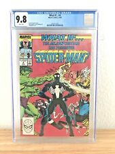 """WHAT IF #4 CGC 9.8 MARVEL """"WHAT IF THE ALIEN COSTUME HAD POSSESSED SPIDER-MAN?"""""""