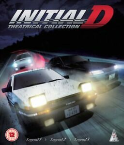 Initial D: Theatrical Collection Blu ray RB New Sealed