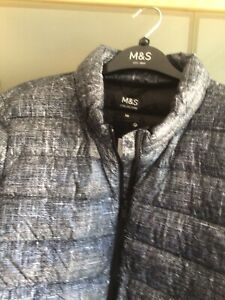 Puffa Jacket BNWT Size 18 Black Mix M&S Lightweight