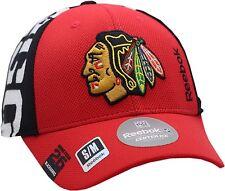1d7ca163f8a Chicago Blackhawks Hat Flex Fit Draft Structured Indian Head Logo 11901 S m