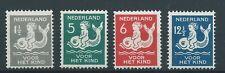 1929TG Nederland  Kinderzegels NR.225-228 postfris, mooie serie's..