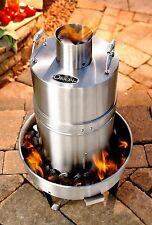 Orion Stainless Steel Convection Charcoal Cooker