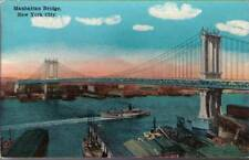(pxi) New York NY: Manhattan Bridge