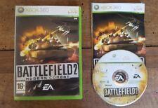 Battlefield 2 modern combat jeu console XBOX 360 Français(lot)one,3 1 4
