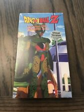 Dragon Ball Z - Imperfect Cell: Encounter (VHS, 2000, English Dubbed Unedited V…