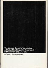 London School of Linguistics : D.Terence Langendoen