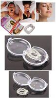 2 Anti Snore Magnetic Silicone Nose Clip Stop Snoring Apnea Aid Device Stopper