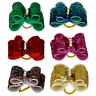 50/100pcs Dog Hair Bows Pet Cat Puppy Shiny Rhinestone Cute Grooming Accessory