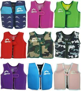 Swimming Vest Jacket Kids Childrens Buoyancy Aid
