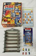 RARE 2007 Fire Escape A-Maze Logic Solving Game COMPLETE firefighter board game
