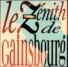 CD - SERGE GAINSBOURG - Le zenith de Gainsbourg