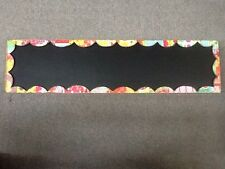 Colorful Devotions by Holly Christine for Demdaco Rectangle Chalkboard Sign 24x6