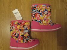 Toddler Girls boots winter boots Disney princess pink BNWT George infant size 8