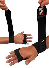 GYM BODYBUILDING WEIGHT LIFTING CROSSFIT LONG WRIST WRAP SUPPORT FITNESS GLOVES