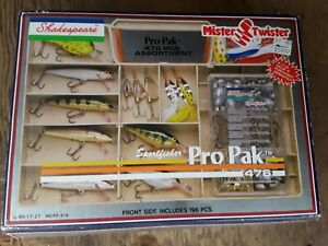 Freshwater Lures,New Sportsfisher Pro Pak 476pc Tackle Box,Vintage Lures