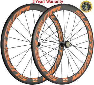 700C Road Bike Carbon Wheels 50mm Clincher Bicycle Carbon Wheelset Basalt Brake