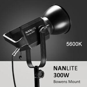 DHL NANLITE Forza 60W 300W Photography Light 5600K Daylight LED COB Bowens Mount