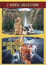 HOMEWARD BOUND 1 & 2 DVD DOUBLE FEATURE NEW