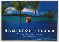 Hamilton Island Great Barrier Reef Australia Beach Club Postcard (P327)