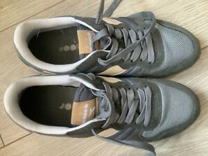 Men's Diadora Trainers Grey size UK 7