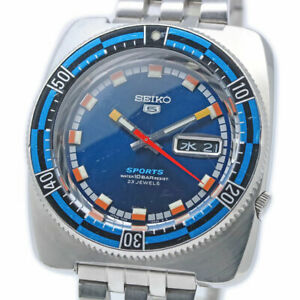 SEIKO 5 SPORTS Reprint SBSS015 7S36-0080 Automatic Watch 1997's Overhauled