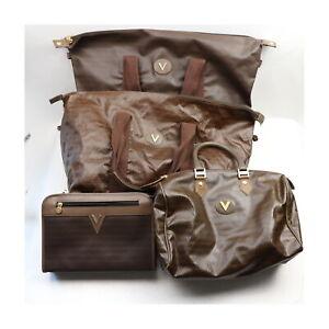 Mario Valentino PVC Clutch Travel Bag 4 pieces set 523766
