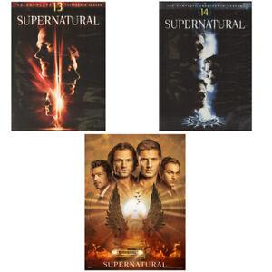Supernatural Complete Series Seasons 13-15 DVD Set Seasons 13,14&15 Free Ship