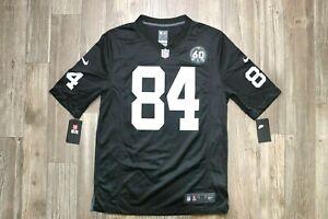 NFL Nike On Field #84 Antonio Brown Black Raiders Jersey Pick A Size
