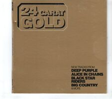 (GR767) Classic Rock - 24 Carat Gold, 15 tracks various artists - 2013 CD
