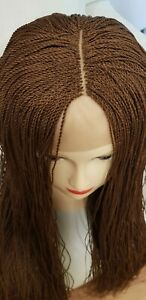 Micro twist Braided Wig with centre Part color 30