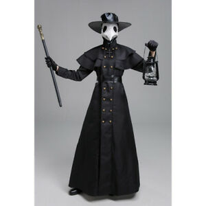 Plague Doctor Cosplay Halloween Costumes Medieval Steampunk Gothic Fancy Outfits