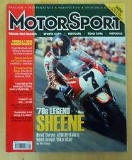 British Motor Sport Car Racing Magazine April 2013 *70's Legend Sheene