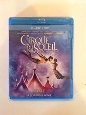 Cirque du Soleil: Worlds Away (Blu-ray/DVD, 2013, 2-Disc Set)Authentic US