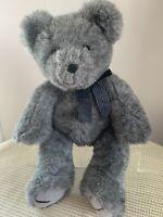 Large Grey Tom Foolery Teddy Bear, 40cm Tall (16'), New