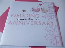 Wedding Anniversary Congratulations ......... Anniversary Greetings Card.