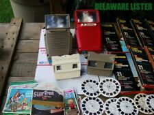 Huge Lot Vintage Viewmaster Viewer Projector/sound TV Shows/Disney Box Sets Rare