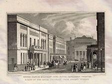 United Service Military Club House Haymarket Theatre Opera Colonade 1827 Photo P