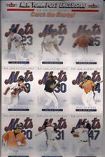 New York Mets -2004 New York Post - Fleer Exclusive - 9 card sheet