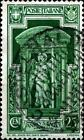ITALIA - Regno - 1933 - Anno Santo - 25 c. - Angelo che porta la croce