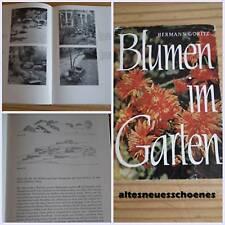 Blumen im Garten DDR Fachbuch!