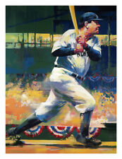 """MALCOLM FARLEY """"BABE RUTH"""" LIMITED EDITION ON CANVAS"""