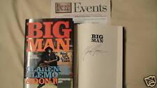SIGNED BOOK Big Man Clarence Clemons 1/1 DJ HC E-STREET First Edition Print RIP
