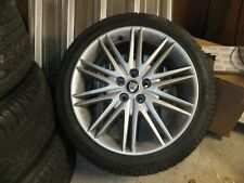 jaguar s type alloy wheels/ tyres. 4 wheels, excellent treads. plus set of studs