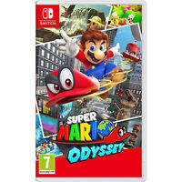 Super Mario Odyssey Video Game for Nintendo Switch System Region Free