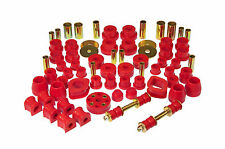 Prothane 70-73 Datsun 240Z Complete TOTAL Suspension Bushing Inserts Red 14-2001